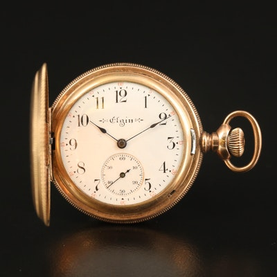 1904 Elgin Hunting Case Pocket Watch