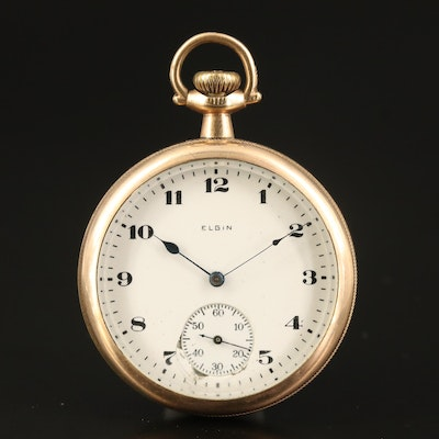 1922 Elgin Gold-Filled Pocket Watch