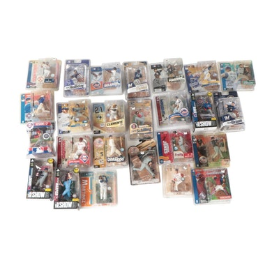 McFarlane MLB Action Figures Including Pudge, Piazza, Nomar, and More