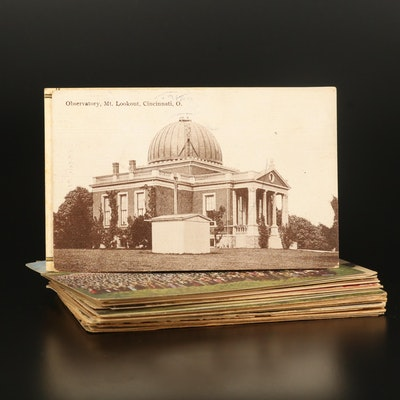 Architectural and Landscape Postcards, Early to Mid-20th Century