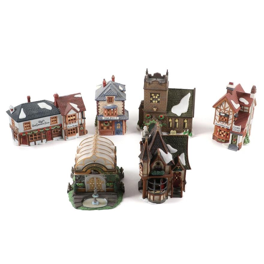"Department 56 ""Dickens' Village Series"" Porcelain Village Accessories"
