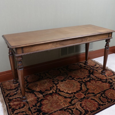 Console Table with Folding Secretarial Desk