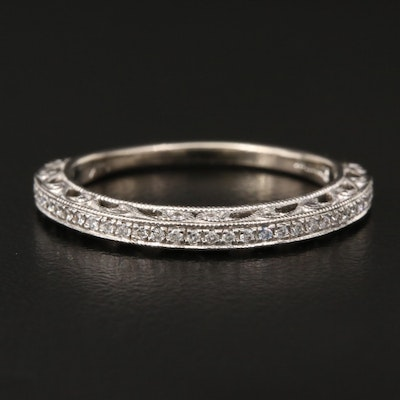 Scott Kay 14K Diamond Openwork Band