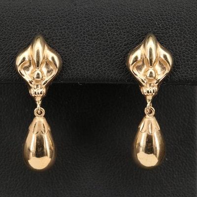 Milor 14K Drop Earrings