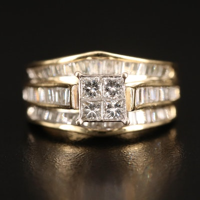 14K 1.66 CTW Diamond Ring