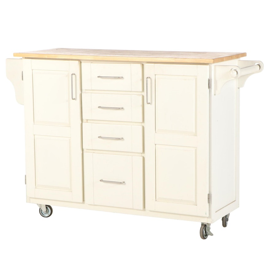 Contemporary Kitchen Island Cart