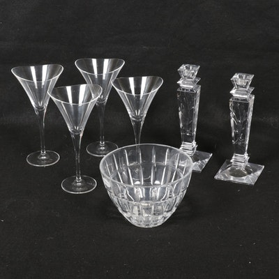 Hoya, Stuart, and Fifth Avenue Ltd. Cut Crystal Tableware