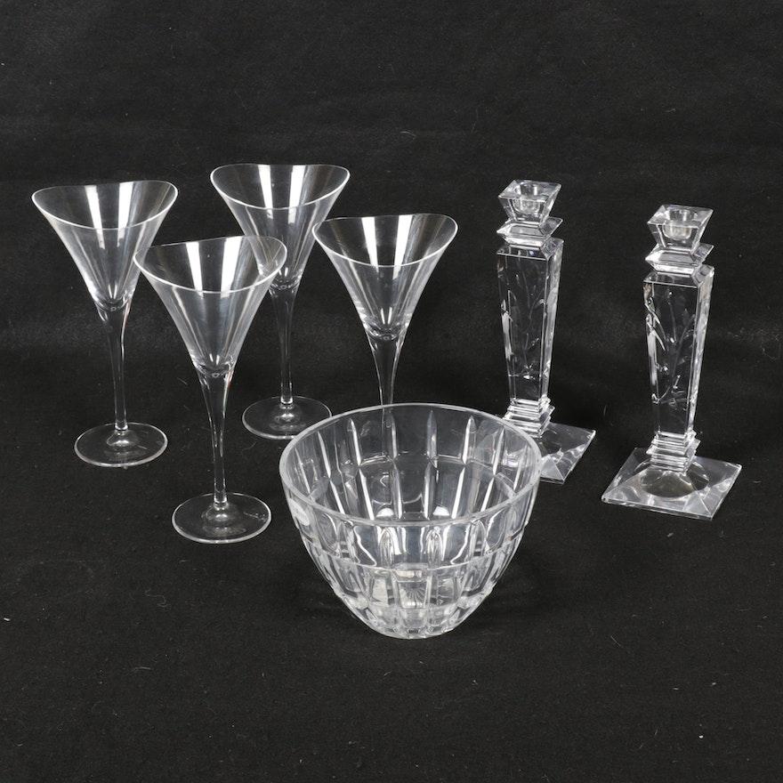 Hoya, Stuart, and Fifth Avenue Ltd. Cut Crystal Tableware