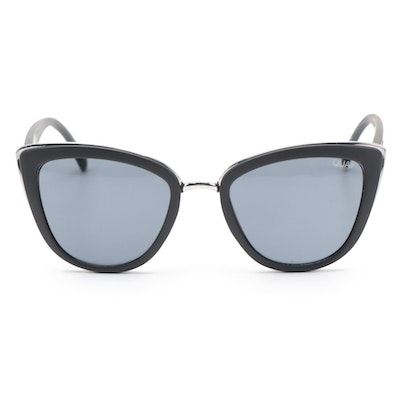 "Quay ""My Girl"" Modified Cat Eye Sunglasses in Matte Black"