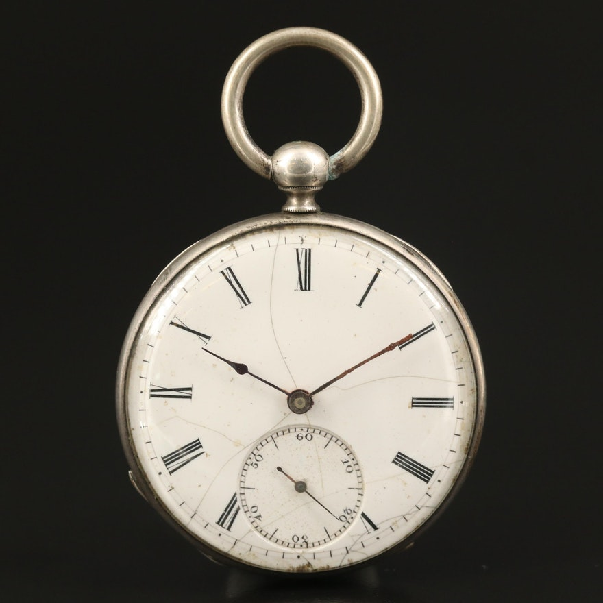 Antique Pocket Watch Marked Davies & Co. London
