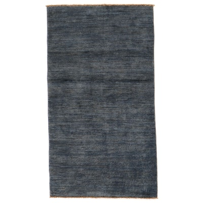 2'11 x 5'3 Hand-Knotted Afghan Gabbeh Area Rug