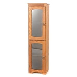 Oak Two-Tier Display Cabinet, Late 20th Century