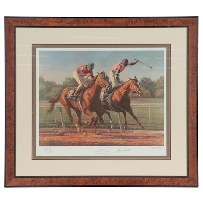 "Fred Stone Offset Lithograph ""The Duel"""