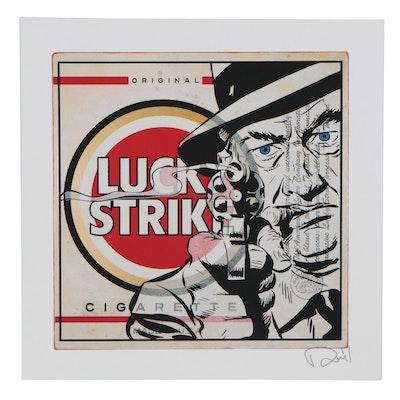 """Denial Pop Art Giclée """"Lucky Strike,"""" 21st Century"""