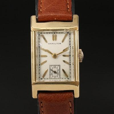 1936 Hamilton 14K Gold-Filled Wristwatch