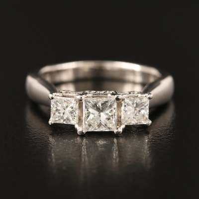 18K 1.29 CTW Diamond Ring