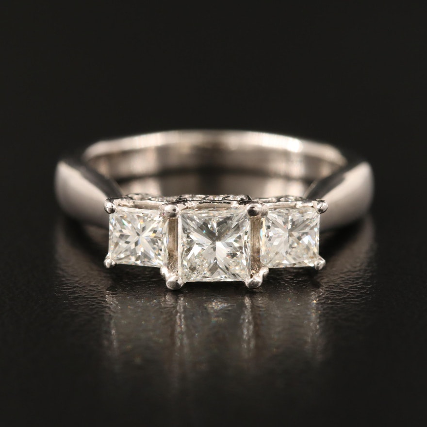 18K 1.29 CTW Diamond Ring