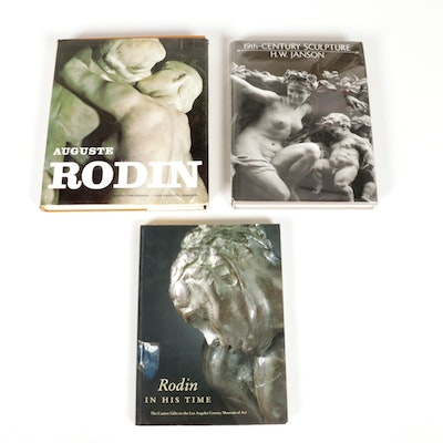 """19th-Century Sculpture"" and Art Books on Auguste Rodin"