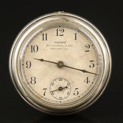 "Antique ""Yankee"" R.H. Ingersoll & Bro. New York, USA Pocket Watch"
