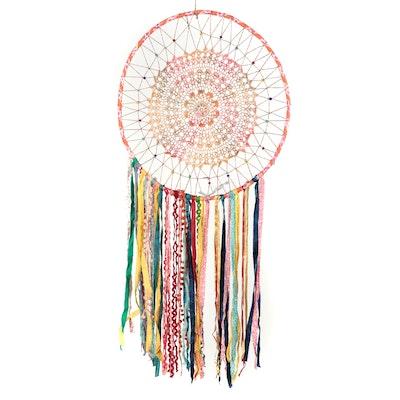 Decorative Crochet Dream Catcher, 21st Century
