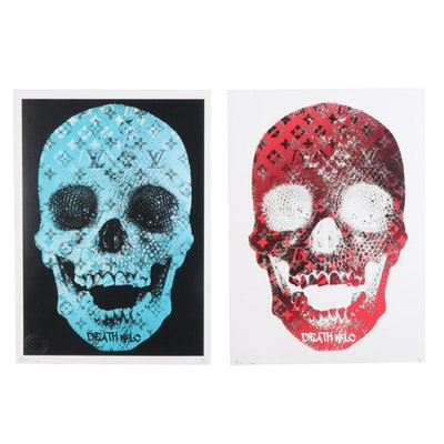 Death NYC Pop Art Graphic Prints, 2020