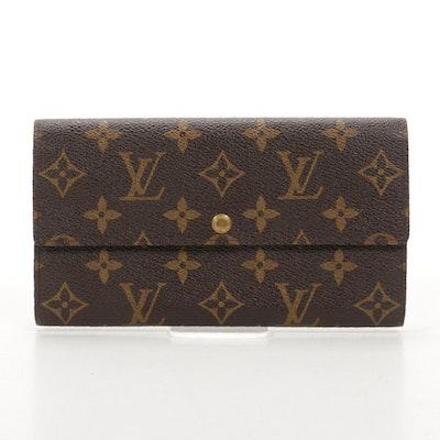 Louis Vuitton Pochette Porte-Monnaie Credit in Monogram Canvas