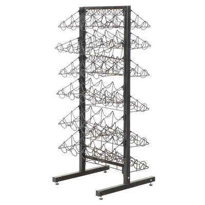 48-Bottle Metal Wine Rack
