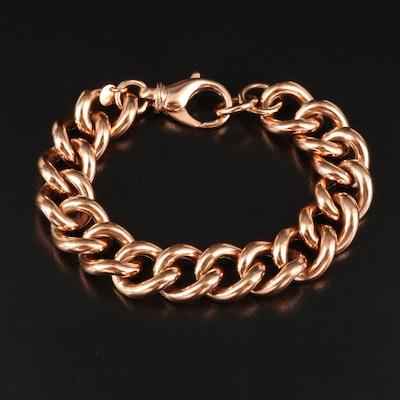 Italian Curb Chain Bracelet