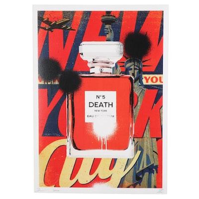 "Death NYC Pop Art Graphic Print ""Death No. 5,"" 2020"