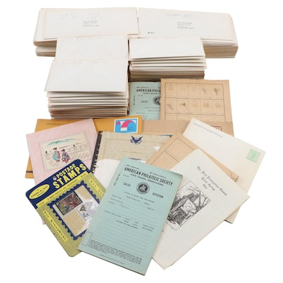 U.S. and International Stamp Collection, Mid to Late 20th Century