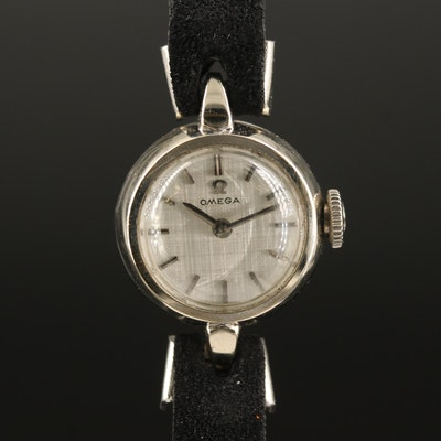 Omega 14K Stem Wind Wristwatch