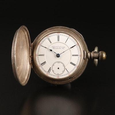 1887 Gilbert & Denny Winchester, Va. Scrap Pocket Watch