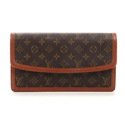 Louis Vuitton Pochette Dame GM in Monogram Canvas and Leather
