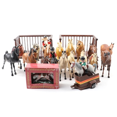 Sandicast Thoroughbred Horse Statue and Other Horse Figures