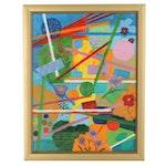"Lee Monnin Oil Painting ""She Shines,"" 21st Century"