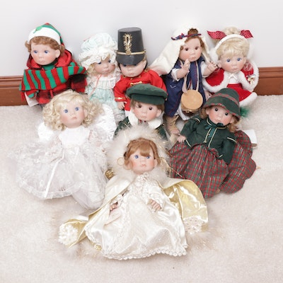 Lee Middleton Dolls Including Christmas Themed