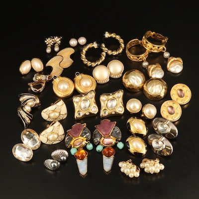 Earrings Featuring Louis Booth, Richelieu and Graziano