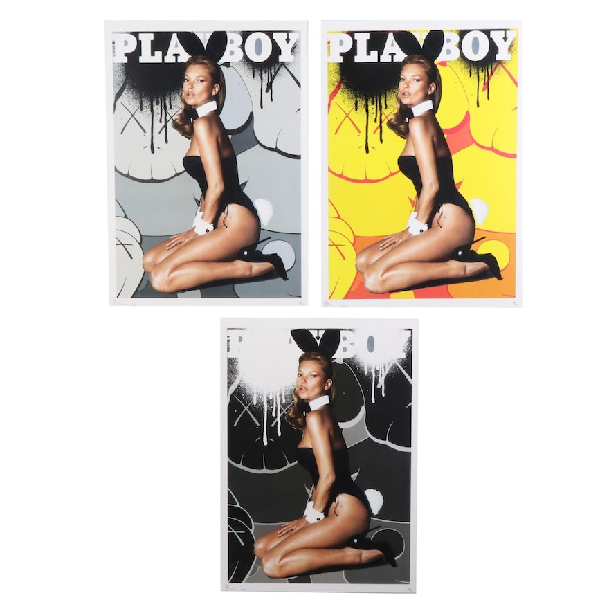 """Death NYC Pop Art Graphic Prints """"Play Kate,"""" 2020"""