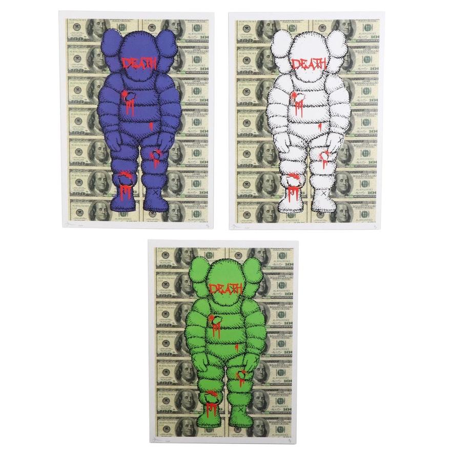 "Death NYC Pop Art Graphic Prints ""100 Chum,"" 2020"