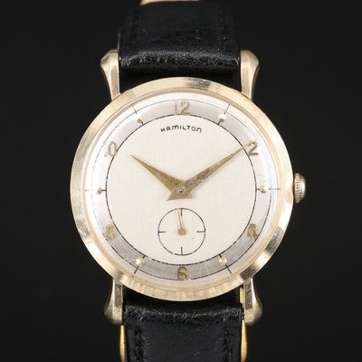 "Hamilton ""Parker B"" 10K Wristwatch"