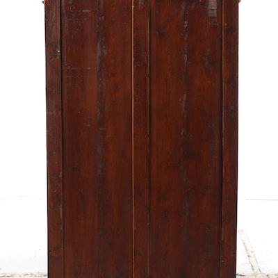 Victorian Walnut Bookcase, Late 19th Century