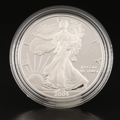 2004-W $1 American Silver Eagle Proof Bullion Coin