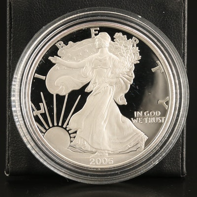 2006-W $1 American Silver Eagle Proof Bullion Coin