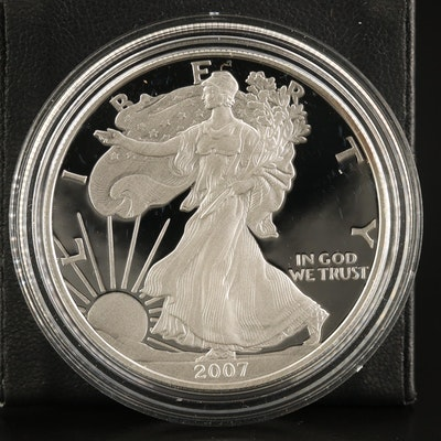 2007-W $1 American Silver Eagle Proof Bullion Coin
