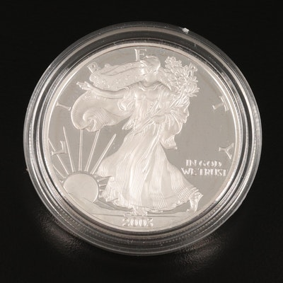 2003-W $1 American Silver Eagle Proof Bullion Coin