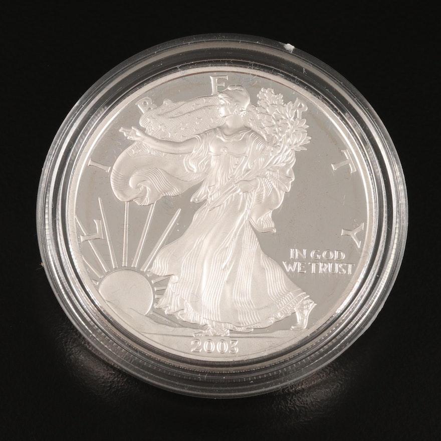 2003-W $1 American Silver Eagle Proof Bullion Coin
