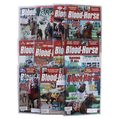 "Jockey Signed ""The Blood-Horse Magazine"" Kentucky Derby Winner Editions"