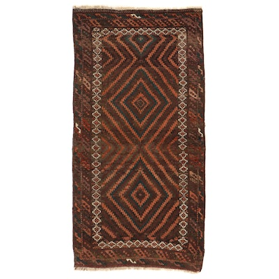 3'5 x 6'10 Hand-Knotted Afghan Baluch Area Rug