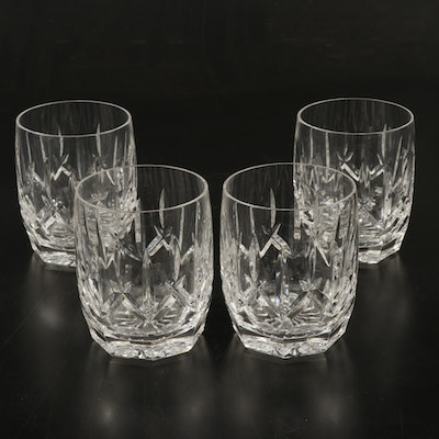 """Waterford """"Westhampton"""" Crystal Double Old Fashioned Glasses, 1998–2017"""