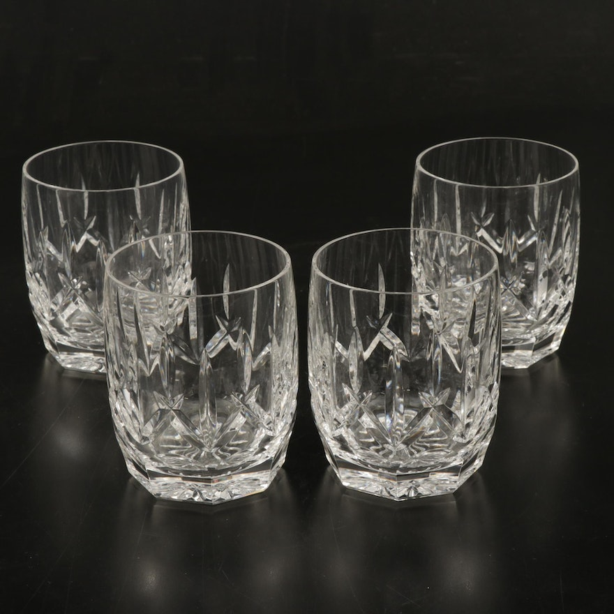 "Waterford ""Westhampton"" Crystal Double Old Fashioned Glasses, 1998–2017"